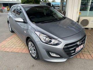 2015 Hyundai i30 GD3 Series II MY16 Active Titanium Grey 6 Speed Sports Automatic Hatchback.