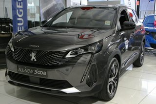 2020 Peugeot 3008 P84 MY21 GT SUV Grey 6 Speed Sports Automatic Hatchback.