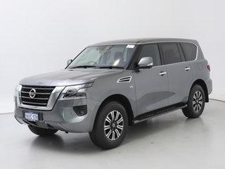 2021 Nissan Patrol Y62 Series 5 MY20 TI (4x4) Grey 7 Speed Automatic Wagon.