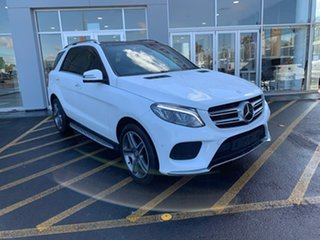 2015 Mercedes-Benz GLE-Class W166 GLE350 d 9G-Tronic 4MATIC White 9 Speed Sports Automatic Wagon.