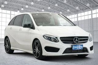 2016 Mercedes-Benz B-Class W246 806MY B250 DCT 4MATIC White 7 Speed Sports Automatic Dual Clutch.
