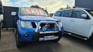 2013 Nissan Navara D40 MY12 ST-X (4x4) 7 Speed Automatic Dual Cab Pick-up.