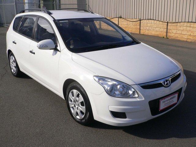 Used Hyundai i30 FD MY09 SX cw Wagon St Marys, 2009 Hyundai i30 FD MY09 SX cw Wagon White 5 Speed Manual Wagon