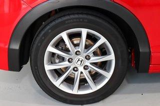 2015 Honda Civic 9th Gen MY15 VTi-S Red 5 Speed Sports Automatic Hatchback