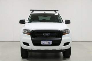 2017 Ford Ranger PX MkII MY17 XL 2.2 Hi-Rider (4x2) White 6 Speed Automatic Crew Cab Pickup.