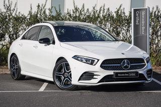 2020 Mercedes-Benz A-Class A250 DCT 4MATIC Polar White 7 Speed Sports Automatic Dual Clutch Sedan.