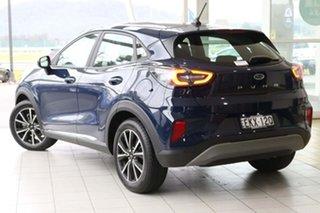 2020 Ford Puma JK 2020.75MY Puma Blue 7 Speed Sports Automatic Dual Clutch Wagon.