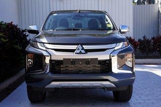 2021 Mitsubishi Triton MR MY22 GLS Double Cab Graphite Grey 6 Speed Sports Automatic Utility.
