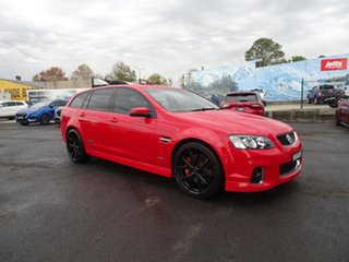 2011 Holden Commodore VE II MY12 SS V Sportwagon Redline Red 6 Speed Automatic Wagon.