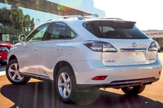 2012 Lexus RX GGL15R MY11 RX350 Prestige White 6 Speed Sports Automatic Wagon.