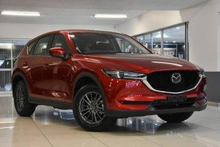 2021 Mazda CX-5 KF4WLA Maxx SKYACTIV-Drive i-ACTIV AWD Sport Red 6 Speed Sports Automatic Wagon.