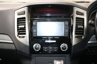 2015 Mitsubishi Pajero NX MY15 Exceed LWB (4x4) White 5 Speed Auto Sports Mode Wagon