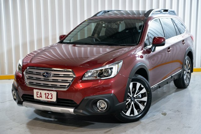 Used Subaru Outback B6A MY16 2.5i CVT AWD Premium Hendra, 2016 Subaru Outback B6A MY16 2.5i CVT AWD Premium Red 6 Speed Constant Variable Wagon