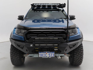 2020 Ford Ranger PX MkIII MY20.25 Raptor 2.0 (4x4) Blue 10 Speed Automatic Double Cab Pick Up.