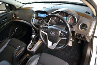 2013 Holden Cruze JH Series II MY13 SRi White 6 Speed Sports Automatic Hatchback.