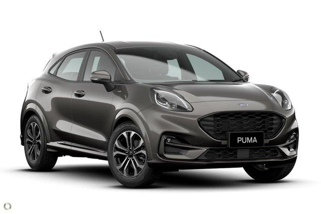 New Ford Puma JK 2021.25MY ST-Line Oakleigh, 2021 Ford Puma JK 2021.25MY ST-Line Grey 7 Speed Sports Automatic Dual Clutch Wagon