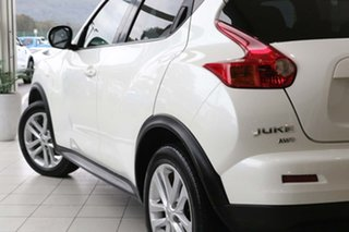 2014 Nissan Juke F15 MY14 Ti-S AWD White 1 Speed Constant Variable Hatchback