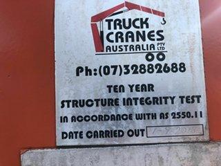 2008 Krueger Crane Semi Trailer