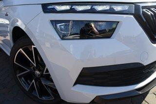 2021 Skoda Kamiq NW MY21 110TSI DSG FWD Monte Carlo Moon White 7 Speed Sports Automatic Dual Clutch.