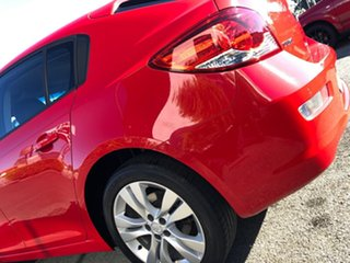 2014 Holden Cruze JH Series II MY14 Equipe Red 6 Speed Sports Automatic Hatchback