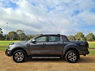2017 Ford Ranger PX MkII 2018.00MY Wildtrak Double Cab Grey 6 Speed Sports Automatic Utility
