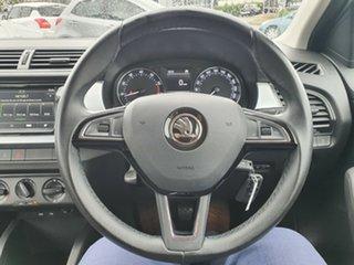 2015 Skoda Fabia NJ MY16 66TSI White 5 Speed Manual Hatchback.