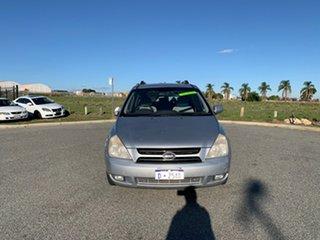 2006 Kia Grand Carnival VQ (EX) Silver 5 Speed Automatic Wagon.