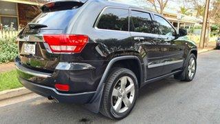 2012 Jeep Grand Cherokee WK MY13 Limited (4x4) Black & Chrome 5 Speed Automatic Wagon.