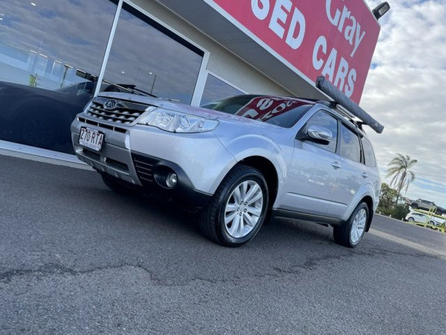 Used Subaru Forester S3 MY11 XS AWD Bundaberg, 2011 Subaru Forester S3 MY11 XS AWD Silver 5 Speed Manual Wagon