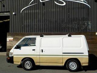 2003 Mitsubishi Express SJ SWB White 4 Speed Automatic Van