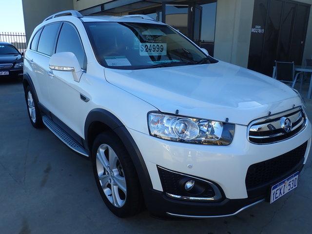 Used Holden Captiva CG MY15 7 LTZ (AWD) Wangara, 2015 Holden Captiva CG MY15 7 LTZ (AWD) 6 Speed Automatic Wagon