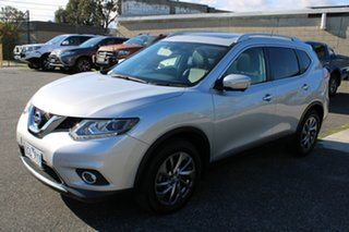 2014 Nissan X-Trail T32 Ti X-tronic 4WD Billet Silver 7 Speed Constant Variable Wagon.