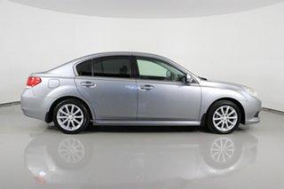 2010 Subaru Liberty MY10 2.5I Premium Silver Continuous Variable Sedan