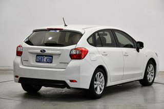 2016 Subaru Impreza G4 MY16 2.0i Lineartronic AWD White 6 Speed Constant Variable Hatchback