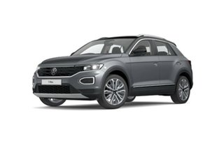 2021 Volkswagen T-ROC A1 MY21 110TSI Style Silver 8 Speed Sports Automatic Wagon.