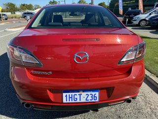 2009 Mazda 6 GH Classic Red 5 Speed Auto Activematic Sedan.