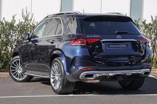 2020 Mercedes-Benz GLE-Class V167 800+050MY GLE300 d 9G-Tronic 4MATIC Cavansite Blue 9 Speed.