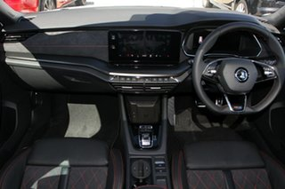 2021 Skoda Octavia NX MY21 RS DSG Moon White 7 Speed Sports Automatic Dual Clutch Wagon.