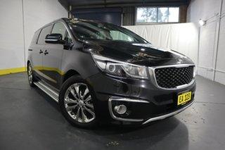 2017 Kia Carnival YP MY17 Platinum Black 6 Speed Sports Automatic Wagon.