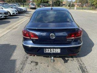 2012 Volkswagen CC Type 3CC MY13 125TDI DSG Blue 6 Speed Auto Sportshift Coupe