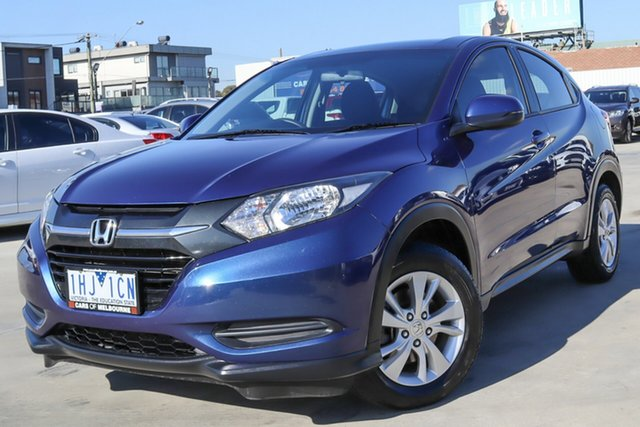 Used Honda HR-V MY16 VTi Coburg North, 2016 Honda HR-V MY16 VTi Blue 1 Speed Constant Variable Hatchback