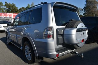 2014 Mitsubishi Pajero NW MY14 Exceed Billet Silver 5 Speed Sports Automatic Wagon.