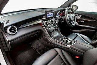 2017 Mercedes-Benz GLC-Class X253 807MY GLC220 d 9G-Tronic 4MATIC White 9 Speed Sports Automatic.