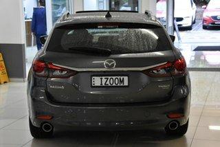 2021 Mazda 6 GL1033 Atenza SKYACTIV-Drive Grey 6 Speed Sports Automatic Wagon.
