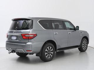 2021 Nissan Patrol Y62 Series 5 MY20 TI (4x4) Grey 7 Speed Automatic Wagon