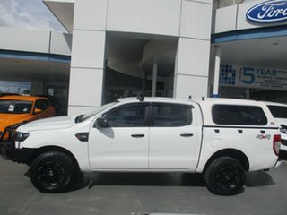2015 Ford Ranger XL XL 3.2 (4x4) White 6 Speed Automatic Dual Cab.