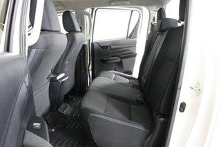 2017 Toyota Hilux GUN126R MY17 SR (4x4) White 6 Speed Manual Dual Cab Utility