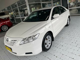 2007 Toyota Camry Altise White Automatic Sedan.