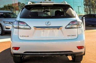 2012 Lexus RX GGL15R MY11 RX350 Prestige White 6 Speed Sports Automatic Wagon