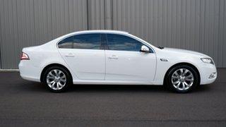 2011 Ford Falcon FG G6E White 6 Speed Sports Automatic Sedan.